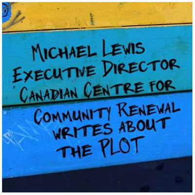 Michael Lewis writes about the PLOT Sharing Garden