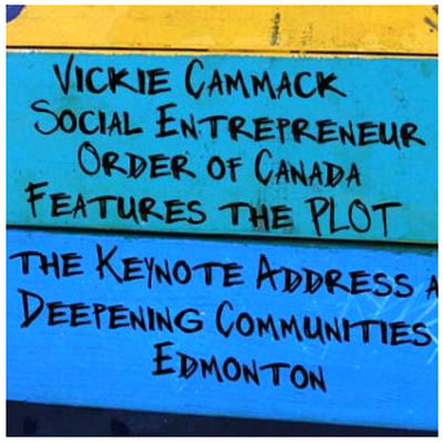 Vickie Cammack writes about the PLOT Sharing Garden