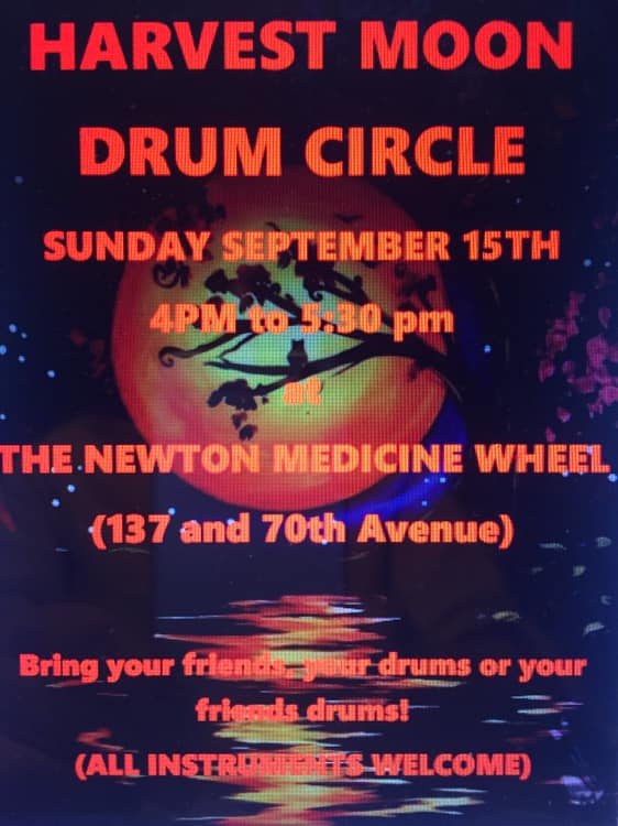 harvest moon drum circle
